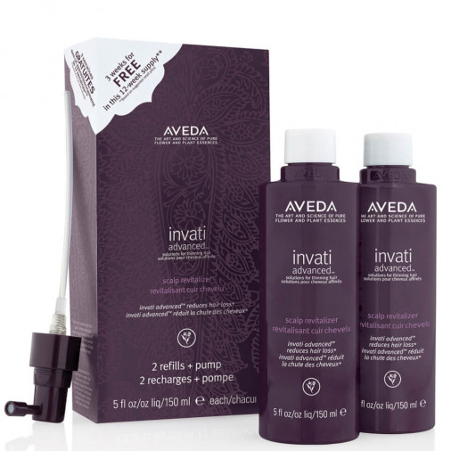 Aveda invati advanced ricariche spray scalp revitalizer 2x150 ml