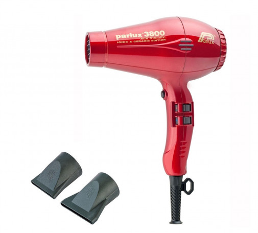 Parlux phon 3800 ecofriendly rosso