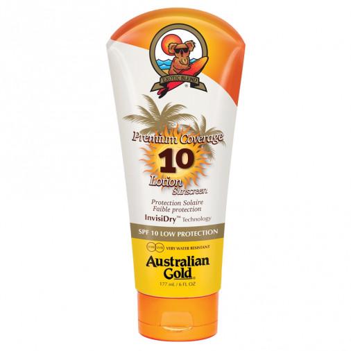 Australian Gold SPF10 Premium Coverage Lotion Sunscreen 177 ml