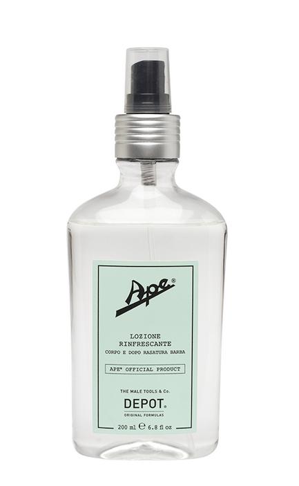 Ape by Depot lozione rinfrescante corpo e dopo-rasatura barba travel size 50 ml
