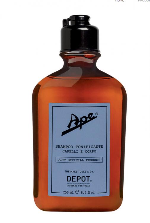 Ape by Depot shampoo tonificante capelli e corpo 250 ml
