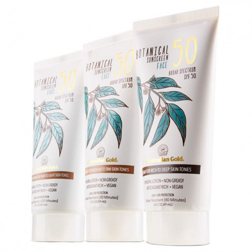 Australian Gold Botanical Sunscreen Tinted Face SPF 50
