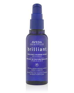 Aveda Brilliant styling fluido illuminante emollient finishing gloss 75 ml