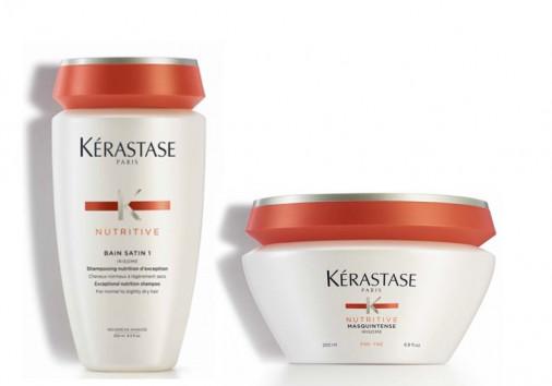 kit nutrimento Kérastase capelli normali fini shampoo maschera