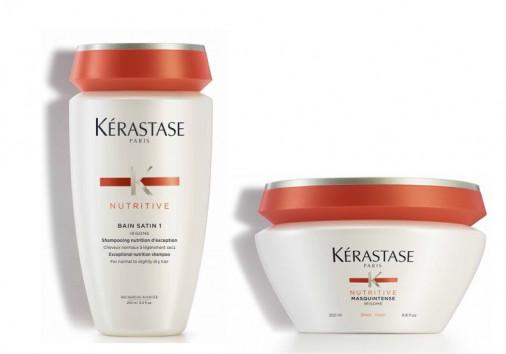 kit nutrimento Kérastase capelli secchi grossi shampoo maschera
