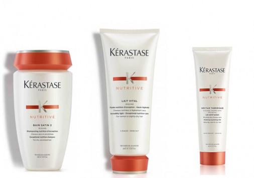 kit nutrimento Kérastase capelli molto secchi fini shampoo balsamo crema