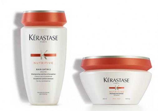 kit nutrimento Kérastase capelli molto secchi grossi shampoo maschera