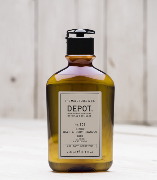 Depot n° 606 - Sport hair & body shampoo 250 ml