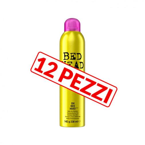 Kit 12 pezzi shampoo secco spray Tigi Bed Head Oh Bee Hive 238 ml