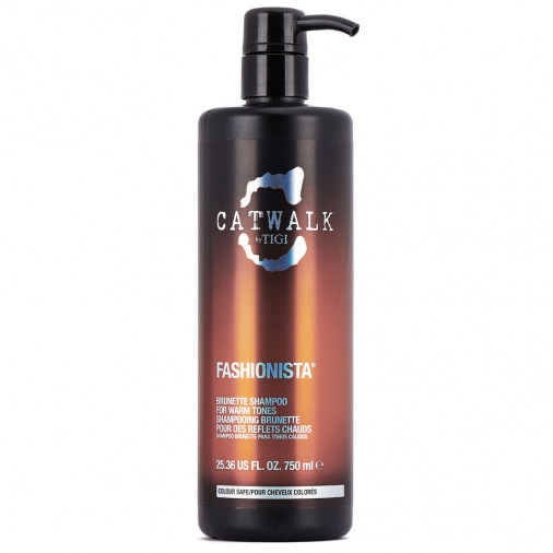 Tigi Catwalk Fashionista Brunette shampoo 750 ml*