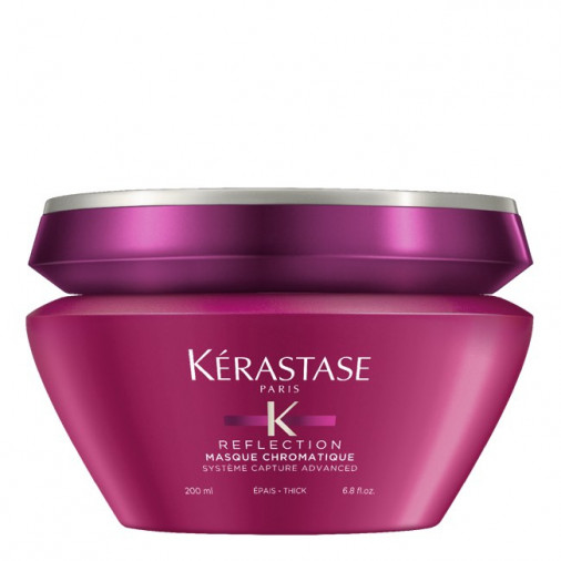 Maschera prottettiva Kérastase per capelli colorati fini, barattolo 200 ml