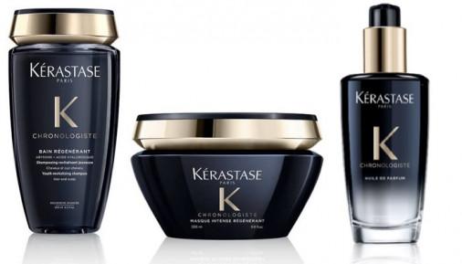Kit illuminante Kérastase per tutti i tipi di capelli shampoo maschera olio