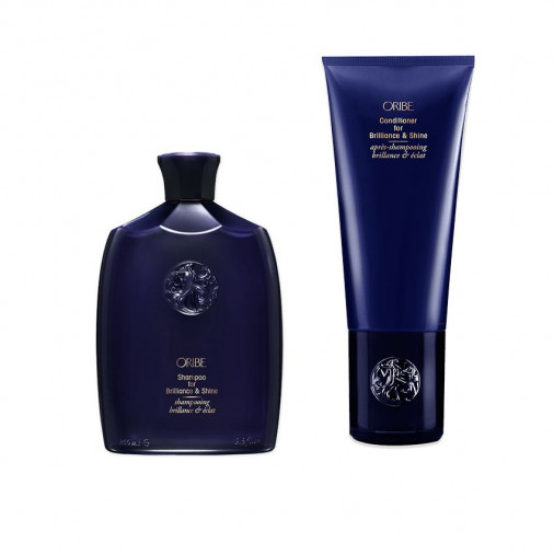 Oribe For Brilliance & Shine kit shampoo e conditioner