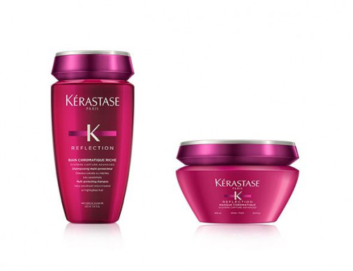 Kérastase Reflection Kit Chromatique shampoo bain chromatique riche + maschera per capelli grossi