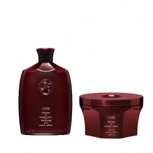 Oribe For Beautiful Color kit shampoo e maschera