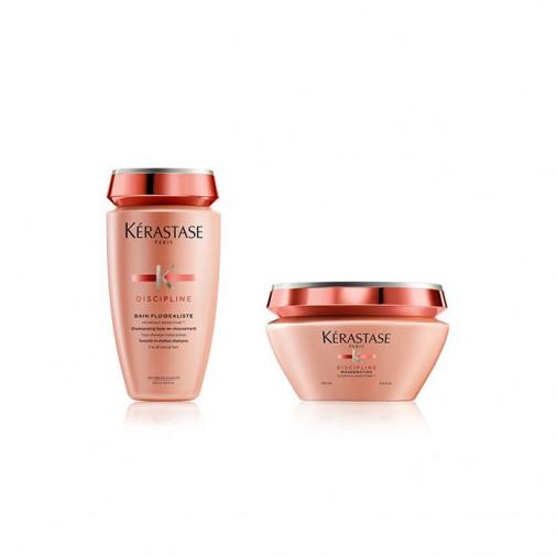 Kit Kérastase disciplinante capelli crespi naturali shampoo e maschera