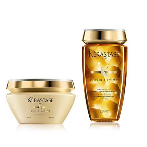 Kérastase elixir ultime kit shampoo + maschera