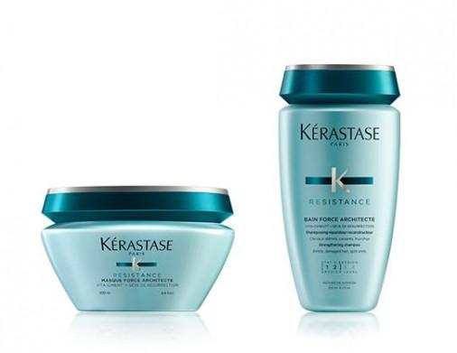 Kérastase résistance kit shampoo force architecte + maschera