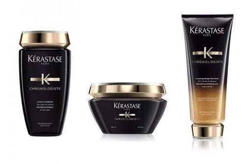 Kit purificante Kérastase per tutti i tipi di capelli shampoo maschera gommage