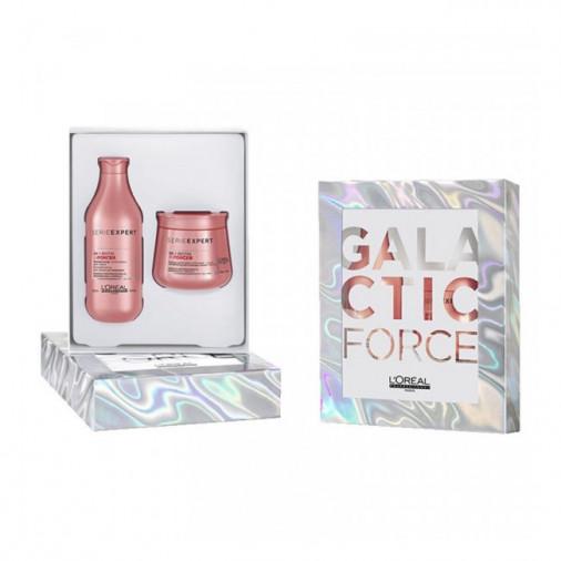 L'oreal pro galactic force xmas box shampoo 300 ml + maschera 250 ml