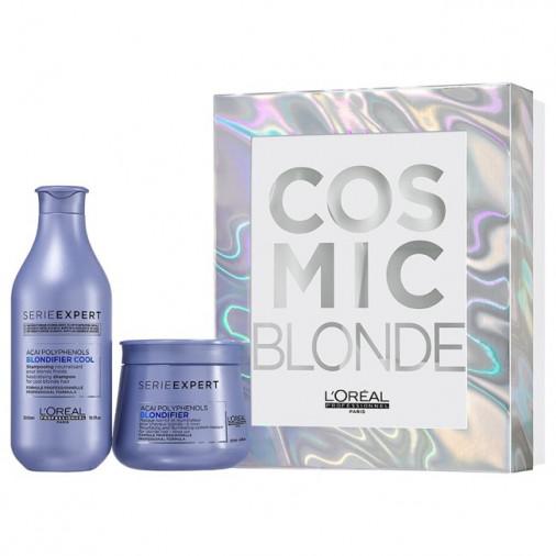 L'oréal pro blondifier cosmic xmas box shampoo+maschera