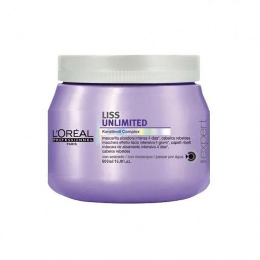 L'Oréal pro New Série Expert maschera Liss unlimited 500 ml