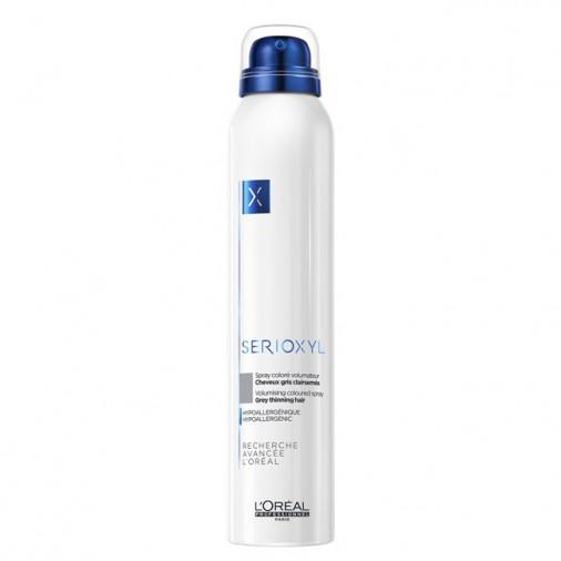 Serioxyl L'Orèal professionnel spray coloré volumateur colore grigio 200 ml