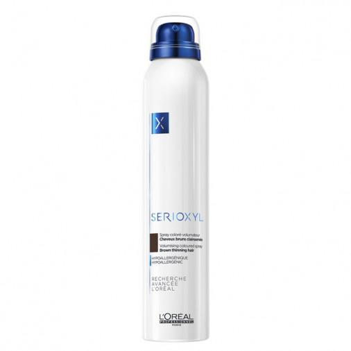 Serioxyl L'Orèal professionnel spray coloré volumateur colore bruno 200 ml