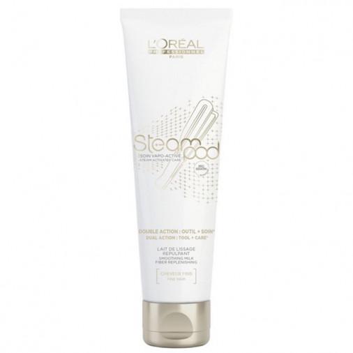 L'Oréal Pro Steam pod latte lisciante rimpolpante per capelli fini 150 ml
