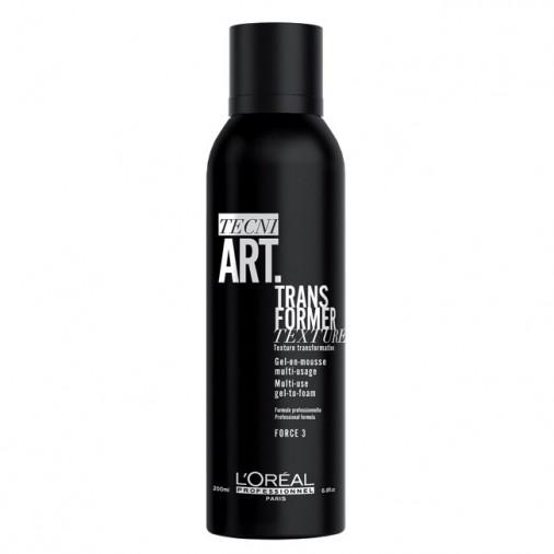 L'Oréal tecni art gel in mousse trans former 150 ml