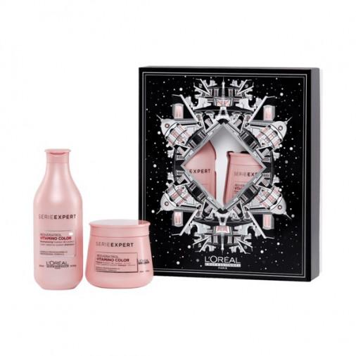 L'oréal pro vitamino color xmas box shampoo+maschera