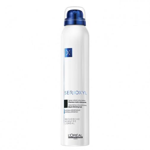 Serioxyl L'Orèal professionnel spray coloré volumateur colore nero 200 ml