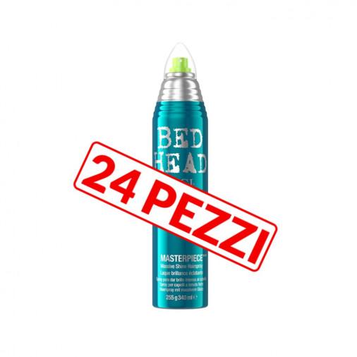 Kit 24 pezzi lacca luminosa a tenuta media anti-crespo Tigi Bed head 300 ml
