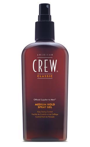 American Crew styling gel spray medium hold 250 ml