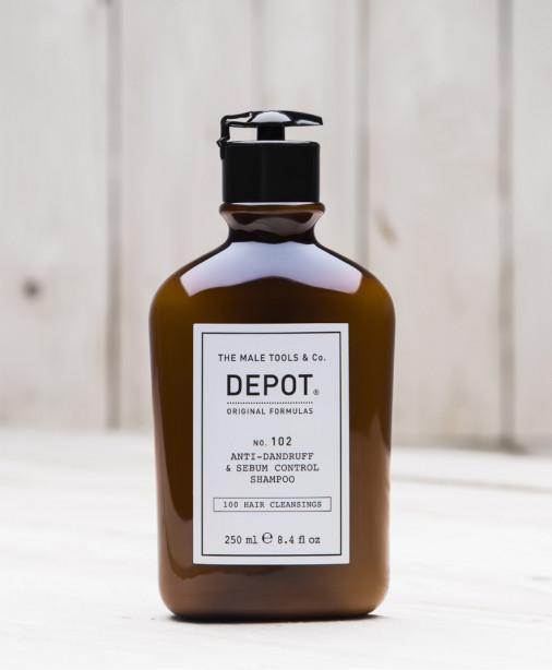 Depot n° 102 - Anti-dandruff & sebum control shampoo 250 ml