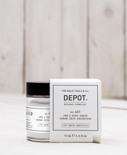 Depot n° 401 - Pre & post shave cream skin protection 75 ml