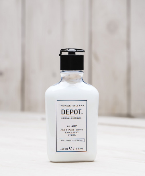 Depot n° 402 - Pre & post shave emollient fluid 100 ml