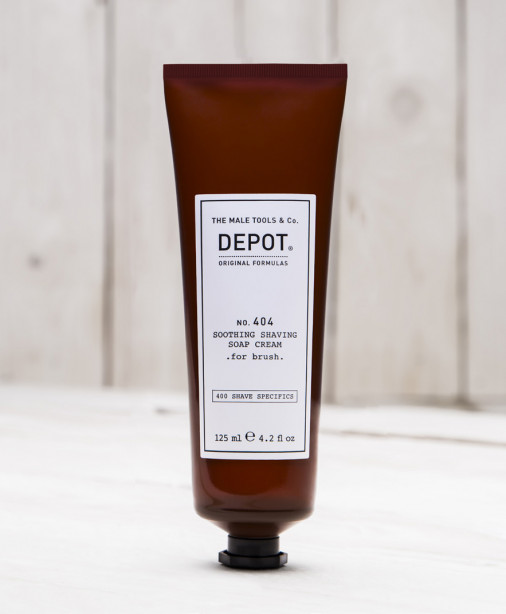 Depot n° 404 - Soothing shaving soap cream 125 ml