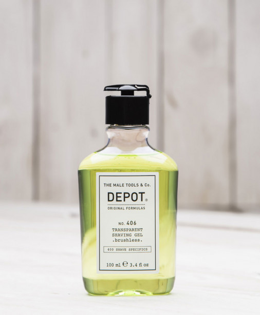 Depot n° 406 - Transparent shaving gel 100 ml