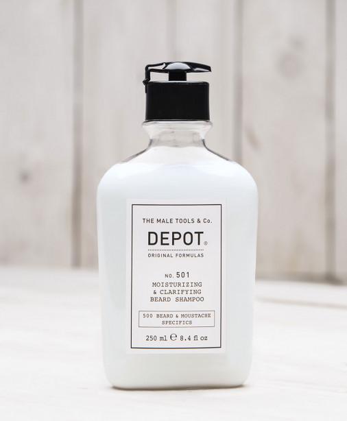 Depot n° 501 - Moisturizing & clarifying beard shampoo 250 ml