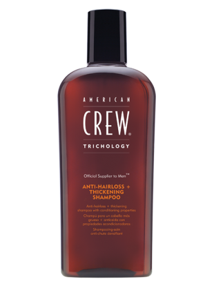 American Crew shampoo anticaduta-ispessente 250 ml