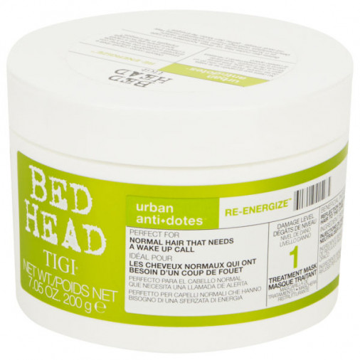 Tigi Bed Head Urban antidotes maschera re-energize treatment 200 gr