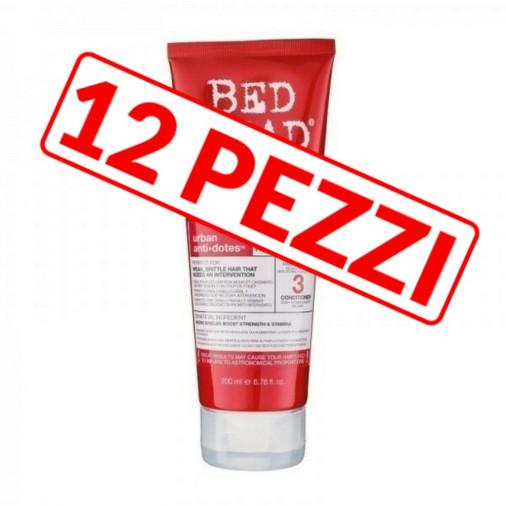 Kit 12 pezzi balsamo riparatore Tigi per capelli danneggiati 200 ml