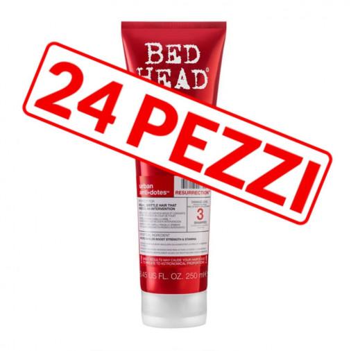 Shampoo riparatore Tigi Resurrection per capelli danneggiati kit 24 pezzi 250 ml