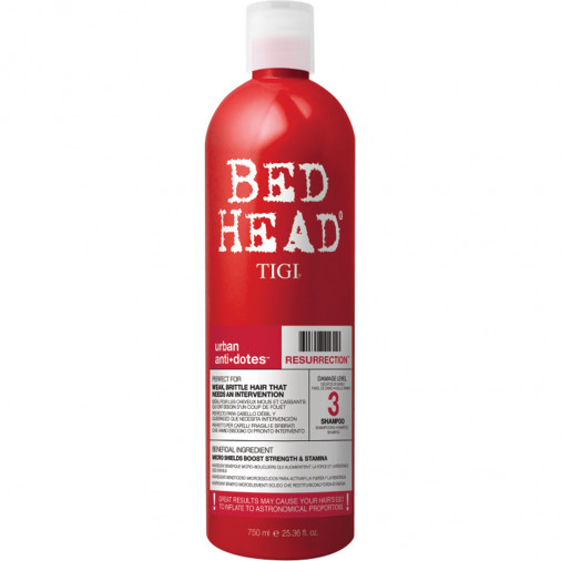 Tigi Bed Head Urban Antidotes shampoo Resurrection 750 ml