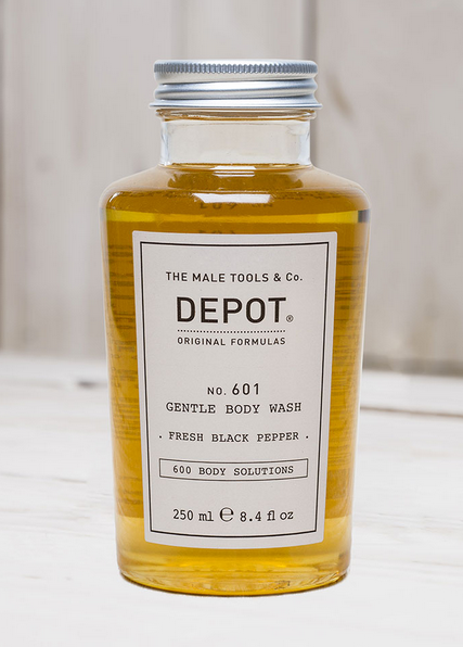 Depot n° 601 - Gentle body wash fresh black pepper 250 ml