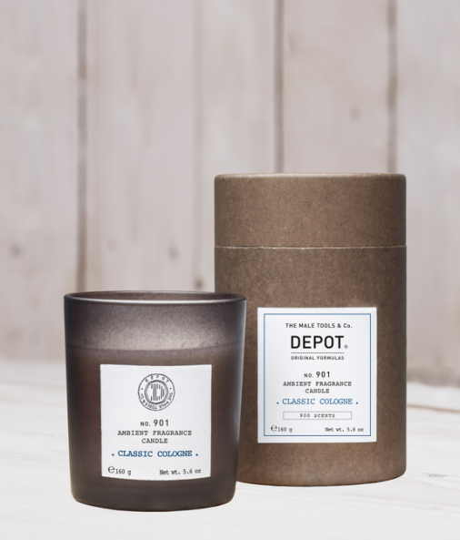 Depot n° 901 - Ambient fragrance candle classic cologne 160 gr