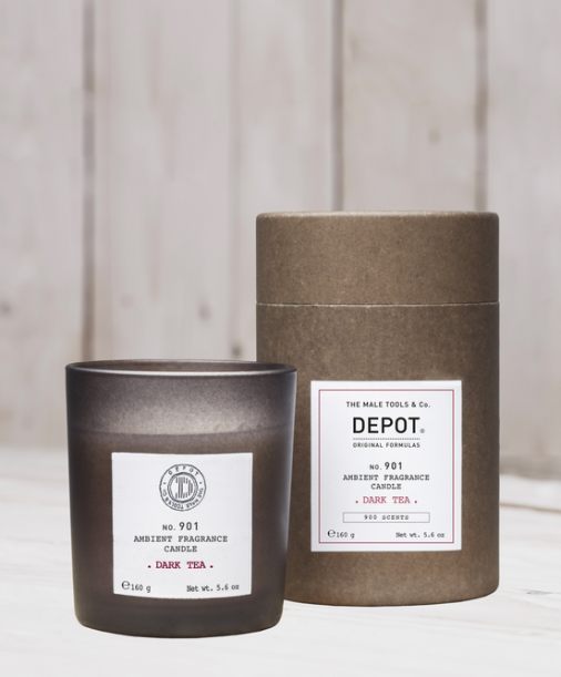 Depot n° 901 - Ambient fragrance candle dark tea 160 gr