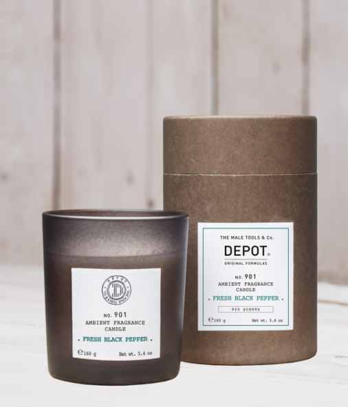 Depot n° 901 - Ambient fragrance candle fresh black pepper 160 gr
