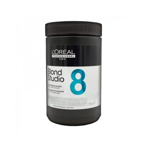 Polvere schiarente L'Oréal Professionnel blond studio multi techniques 8 350 gr